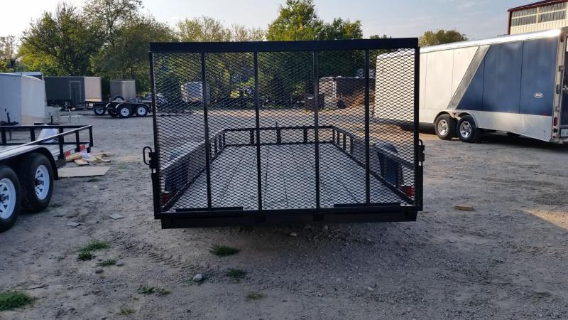 2018 M.E.B 77'x16' Utility w/Gate & Brake 7k
