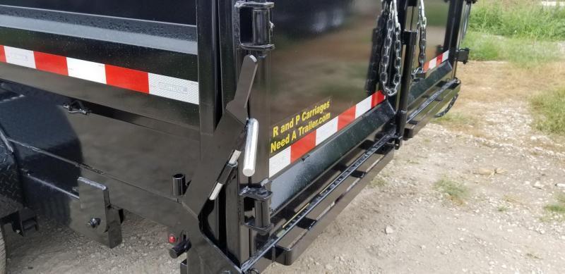 2019 Sure-Trac 82x16 Dual Ram Dump Trailer 14k