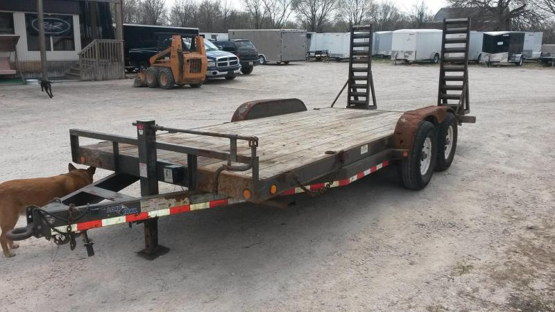 2009 Load Trail 7x18 Equipment Trailer 12k