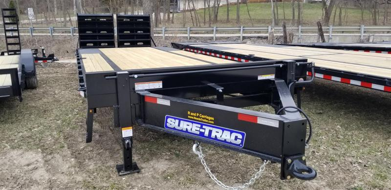 2019 Sure-Trac 8.5x20+5 Deckover Equipment Trailer w/Full Width Ramps 16k