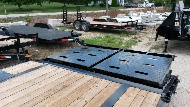 2019 Sure-Trac 8.5x20+5 Deckover Equipment Trailer 14k