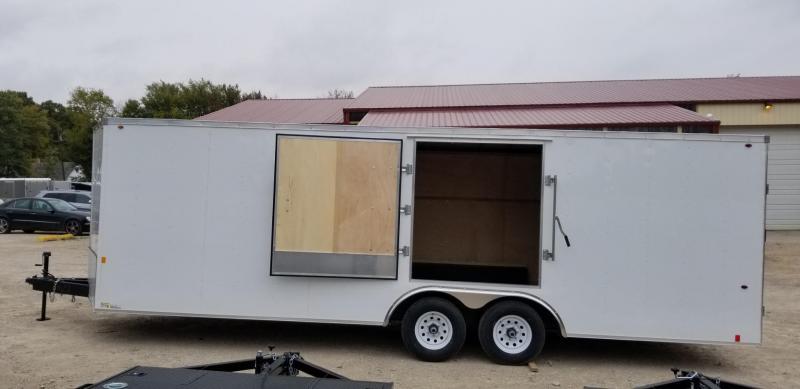 2019 Interstate 8x24 IFC Steel Enclosed Car Hauler 10k