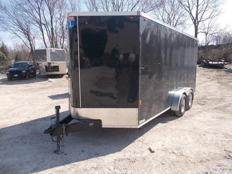 RENTAL #7 7x16 Interstate Cargo Trailer