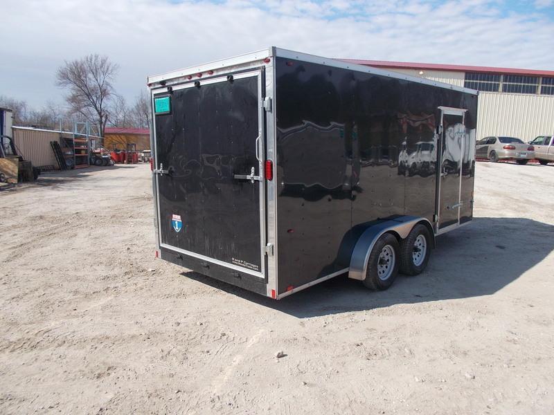 2016 Interstate 7X16 RENTAL Enclosed Cargo Trailer