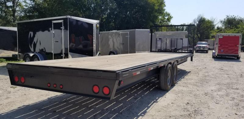 2018 M.E.B 8.5x30 Deckover Equipment/Seed Trailer 14k