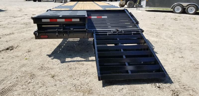 2019 Sure-Trac 8.5x20+5 Deckover Equipment Trailer w/Full Width Ramps 14k
