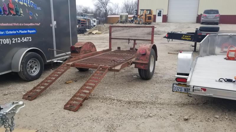 1977 Homemade 4.5x7.5 Utility w/Stand Up Ramps 3k