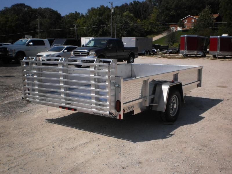 2019 R&R 6x12 ATP All Aluminum Utility w/Bifold Gate 3k