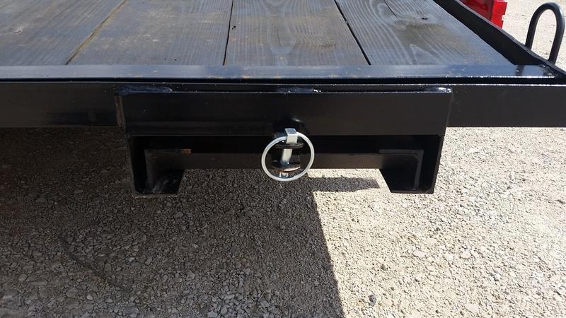 2019 M.E.B 7x20 Open Wood Deck Auto Hauler 7K