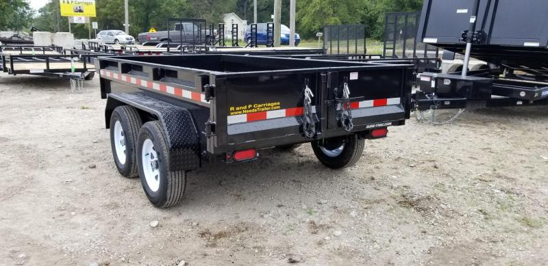 2019 Sure-Trac 62x10 Single Ram Dump w/Barn Doors 7k
