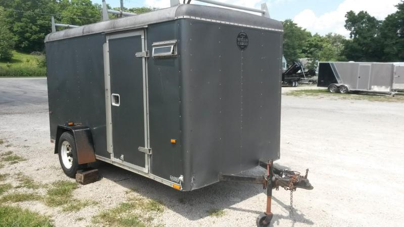 1993 Wells Cargo 7x12 Wagon Cargo Series Trailer 3k