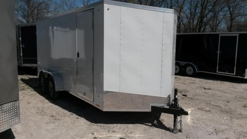 2019 Pace 7x16 Outback Deluxe Cargo Trailer w/Barn Doors 7k