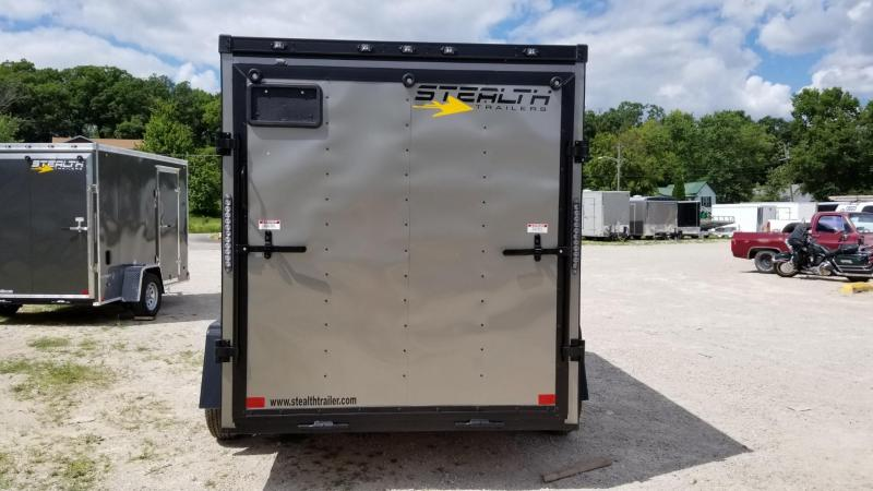 2020 Stealth 6x10 Mustang SE Enclosed Cargo Trailer 3k