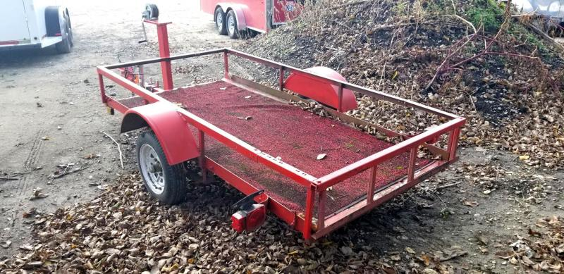 1980 Homemade 47x95 Tilt Utility Trailer 2k