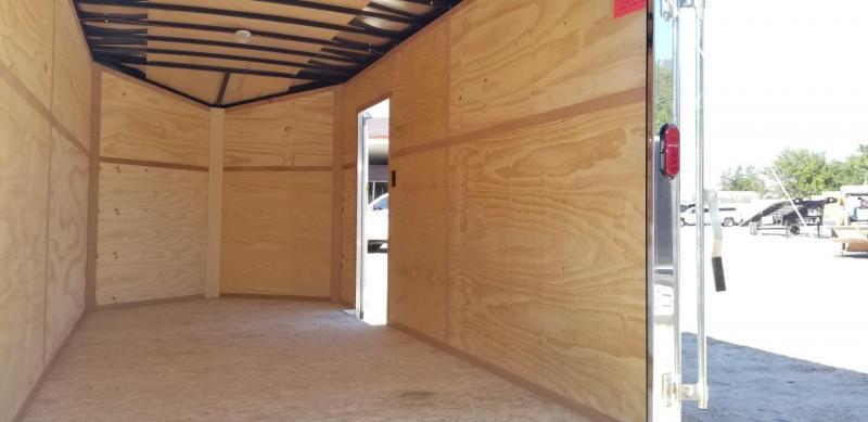2019 Interstate 7x14 IFC Enclosed Cargo Trailer 7K