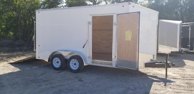 2019 Interstate 7x14 IFC Enclosed Cargo Trailer 7K