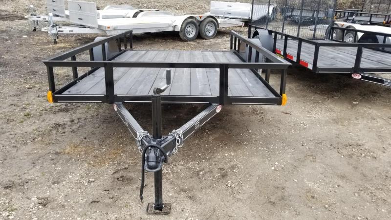 2018 M.E.B. 6.4x12 Utility w/Ramp & Dovetail 3k
