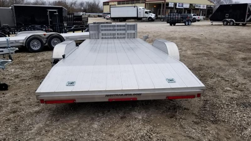 2019 R&R 7x18 All Aluminum Open Car Hauler 10k