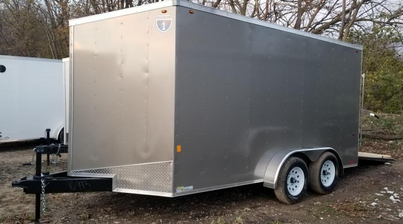 2019 Interstate 7x14 SFC Cargo Trailer  7k
