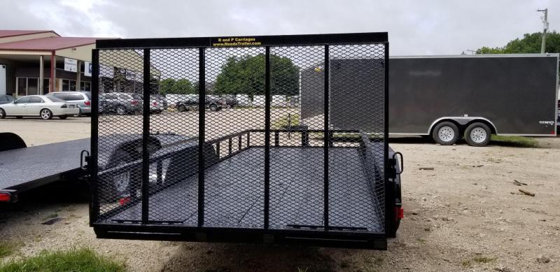 2019 M.E.B 77x16 Utility Trailer w/Gate & Brake 7k
