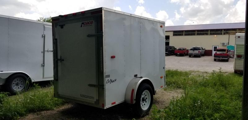 2015 Pace 5x8 Outback Enclosed Cargo Trailer 3k