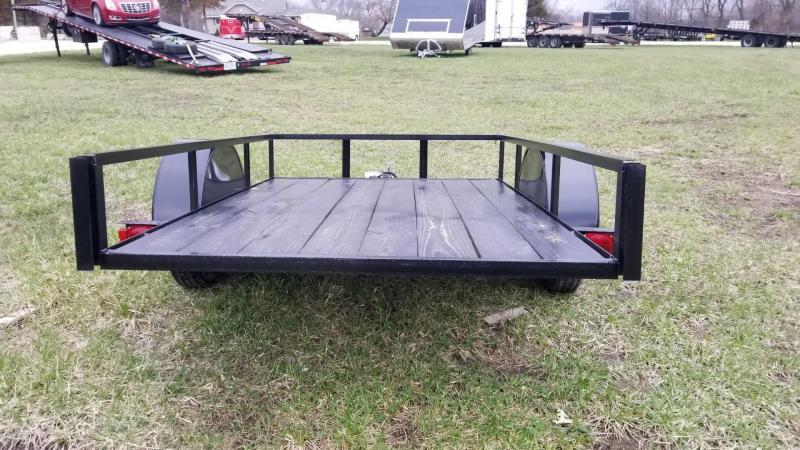 2017 M.E.B 5x8 Utility Tilt w/Board holders 2k