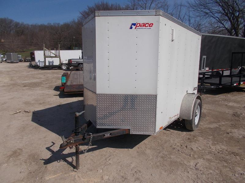 FOR RENT ONLY #3 5x8 Pace Cargo Trailer in Ashburn, VA