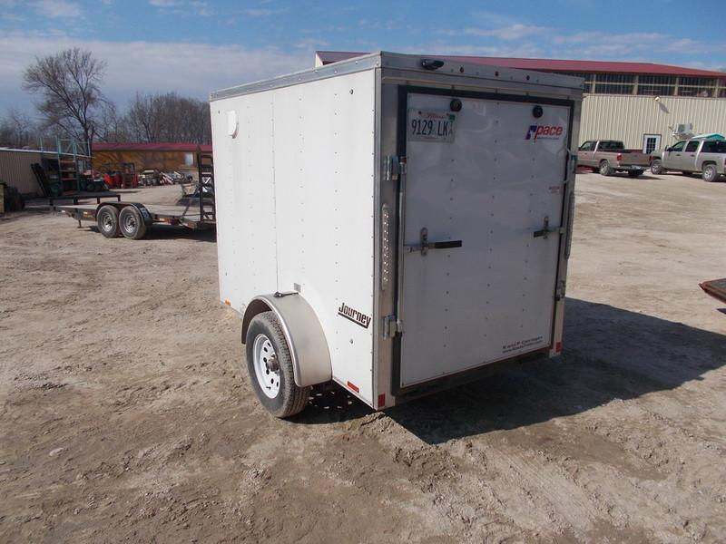 RENTAL #3 5x8 Pace Cargo Trailer