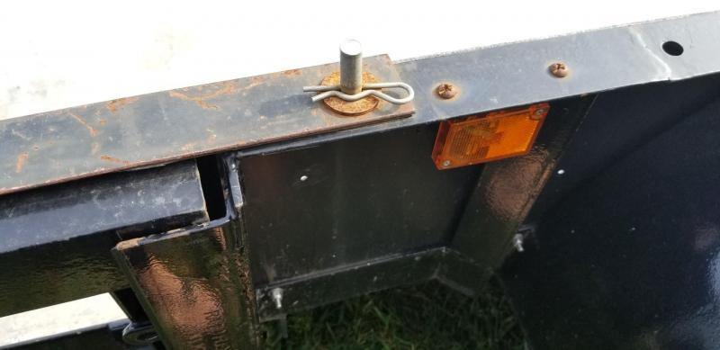 2001 IBEX 77x14 ATV/Utility Trailer w/Gate 2k