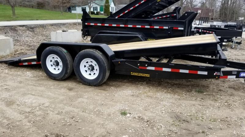 2019 Sure-Trac 7x18 Tilt Deck Equipment Trailer 14k