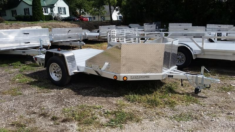 2018 R&R OMC Series Motorcycle Trailer 3k