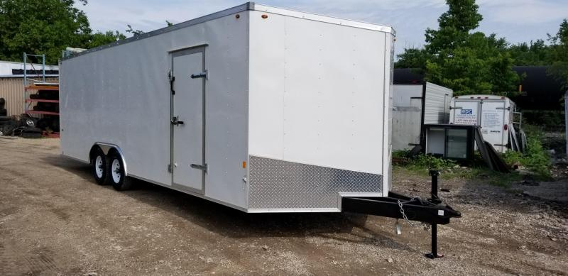 2018 Interstate 8x24 Auto Hauler Enclosed Trailer 10k