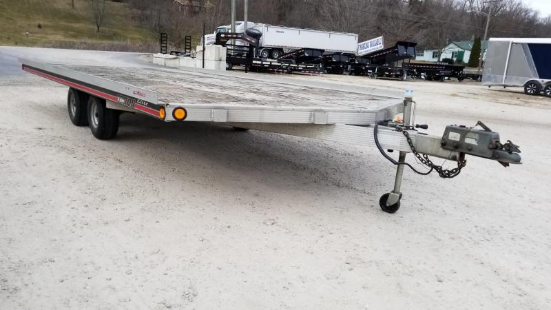 1998 Triton 8.5x16 Deckover Snowmobile Trailer