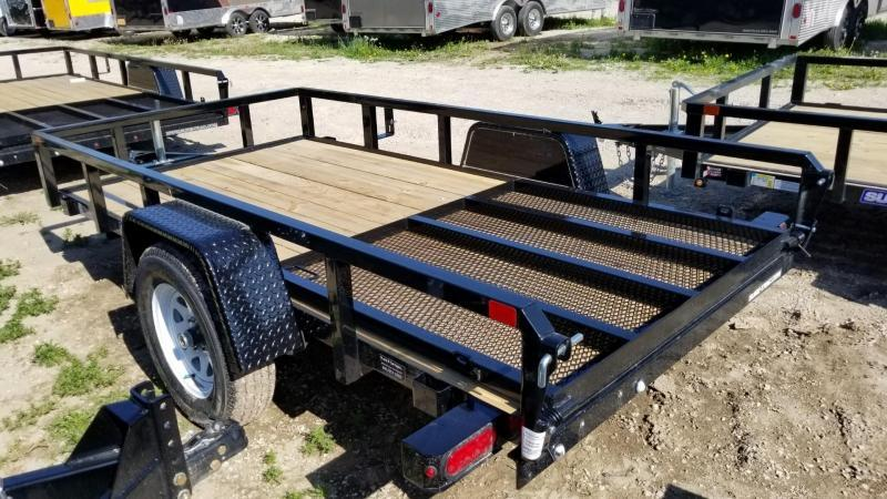 2018 Sure-Trac 5x10 Tube Top Utility w/Gate 3k