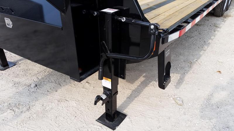 2019 Sure-Trac 8.5x255 Deckover Gooseneck Equipment Trailer 20k