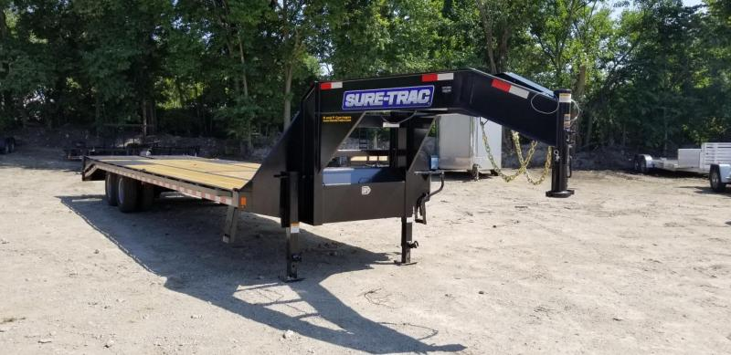 2019 Sure-Trac 8.5x20+5 Gooseneck Deckover Equipment Trailer 20k