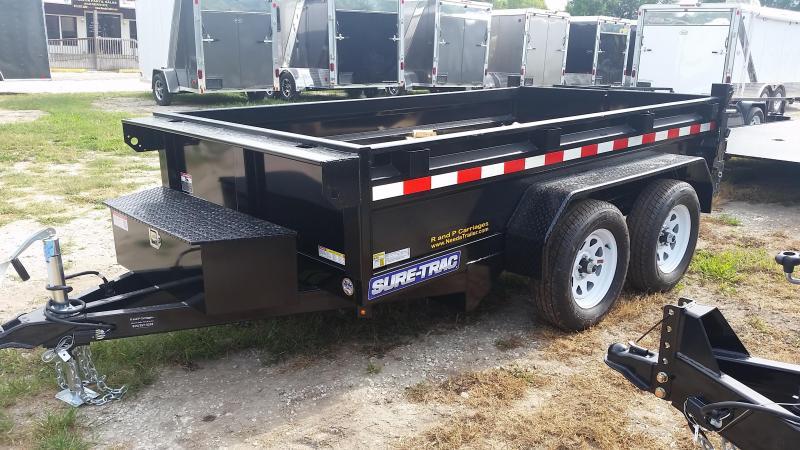 2018 Sure-Trac 62x10 Single Ram Dump 7k