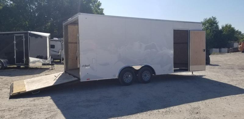 2019 Pace 8.5x20 Outback Deluxe Enclosed Car Hauler 7k