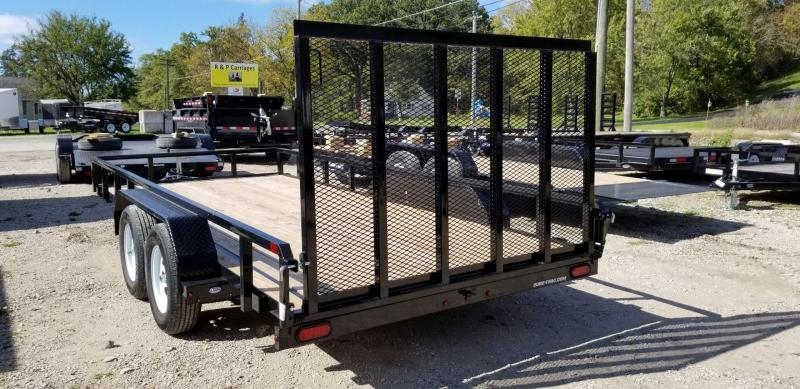 2019 Sure-Trac 7x16 Tube Top Utility Trailer 7k