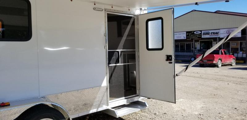 "2019 R&R 7x16 All Aluminum VDCP ""Toy Hauler"" Cargo Trailer 7k"