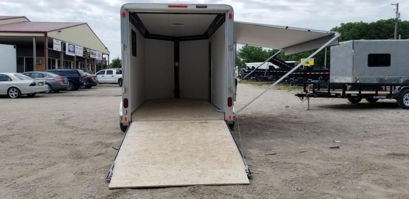 2018 R&R 7x14 VDC 7k Enclosed Toy Hauler Trailer 7k