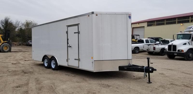 2019 Interstate 8x20 SFC Steel Enclosed Trailer 7k