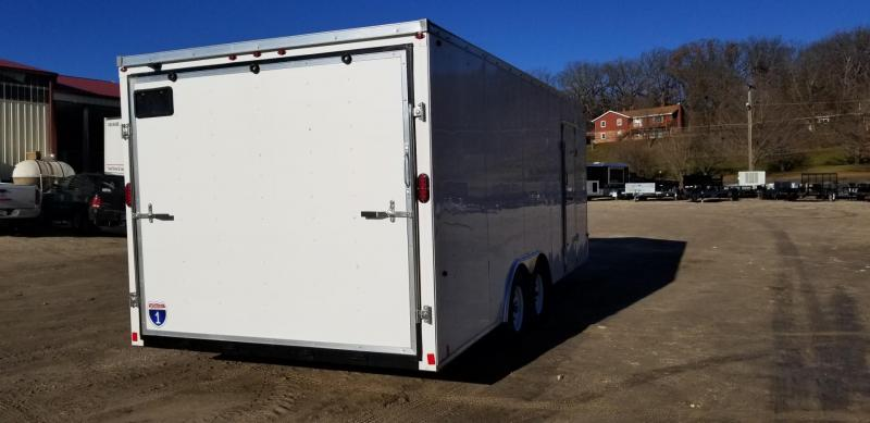 2019 Interstate 8x20 SFC Steel Enclosed Car Hauler Trailer 7k