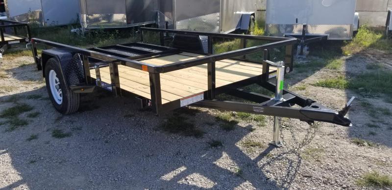 2019 Sure-Trac 6x10 Tube Top Utility w/Fold Flat Gate 3k