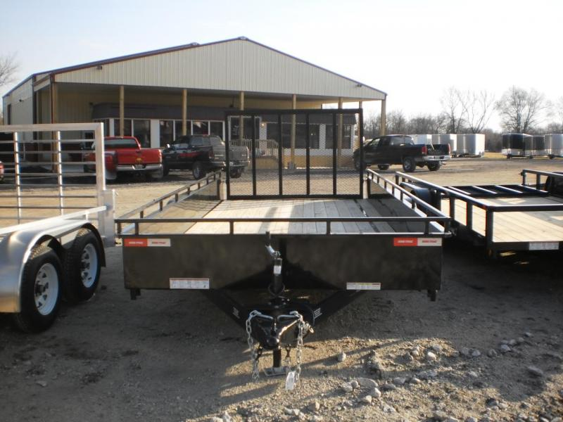 2018 Sure-Trac 7x16 High Side Utility Trailer 7k