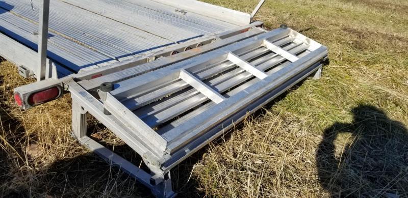 2011 Triton 6.8 x 14 Aluminum Utility Trailer 3k