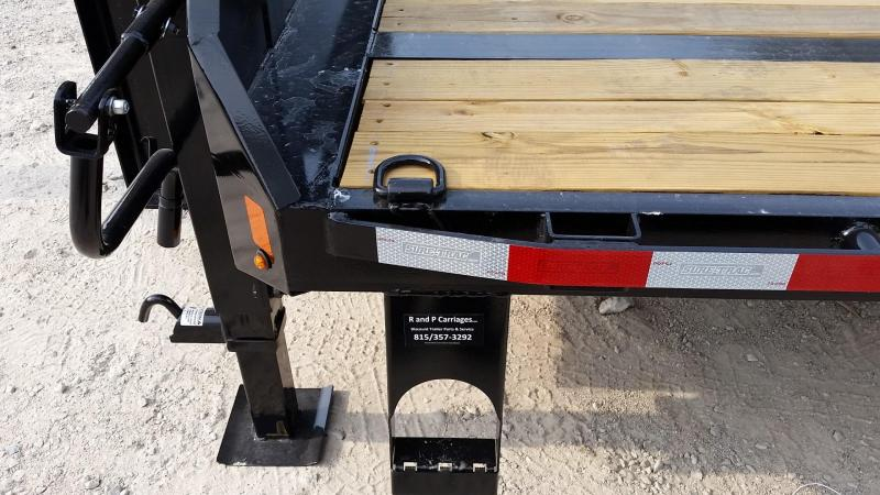 2019 Sure-Trac 8.5x20+5 Gooseneck Deckover Equipment Trailer 14k