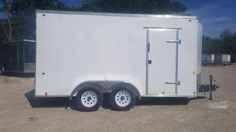 2020 Interstate 7x14 IFC Enclosed Cargo Trailer 7K