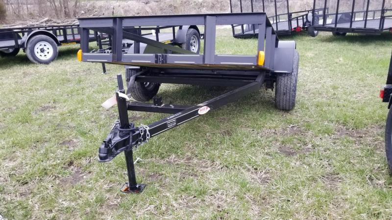 2018 MEB 5x10 Utility Tilt w/Board Holders Trailer 5.2k