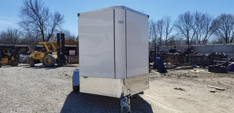 2019 R&R 6x10 Force Elite All Aluminum Enclosed Cargo Trailer 3k